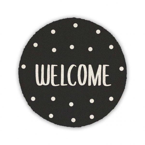 Welcome-nero-Base-tonda